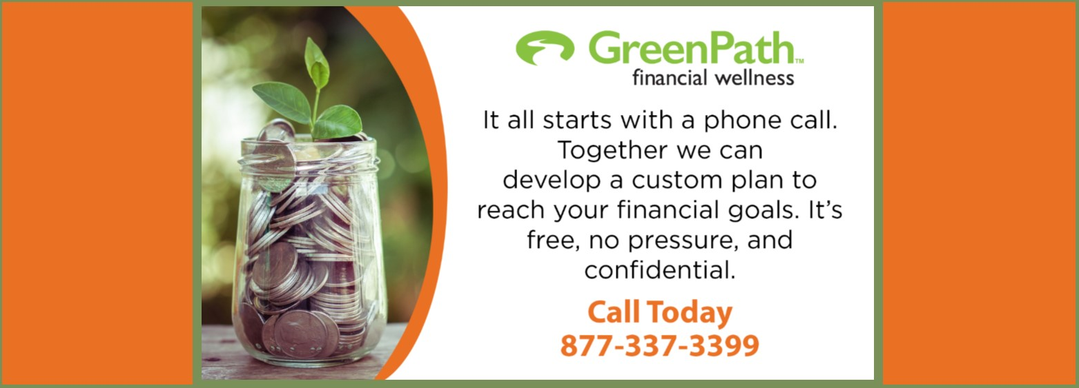 GreenPath Financial Wellness available to all members!