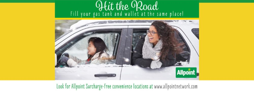 Locate a surcharge-free ATM today! Visit www.allpointnetwork.com today.