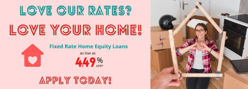 Love your home with a low rate home equity loan. Apply today--call 1-800-624-3312 or online at https://www.cmg.loanliner.com/loanrequest/presenter/LoanList/02911320/652?isframed=F&cuid=02911320&loanlistid=652&channelid=NONE&locationid=7893381300311171126