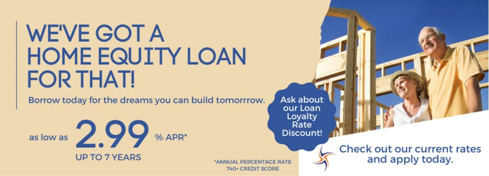 Borrow today for the dreams you can build tomorrow. We've got a home equity loan for that! Apply today--call 1-800-624-3312 or online at https://www.cmg.loanliner.com/loanrequest/presenter/LoanList/02911320/652?isframed=F&cuid=02911320&loanlistid=652&channelid=NONE&locationid=7893381300311171126